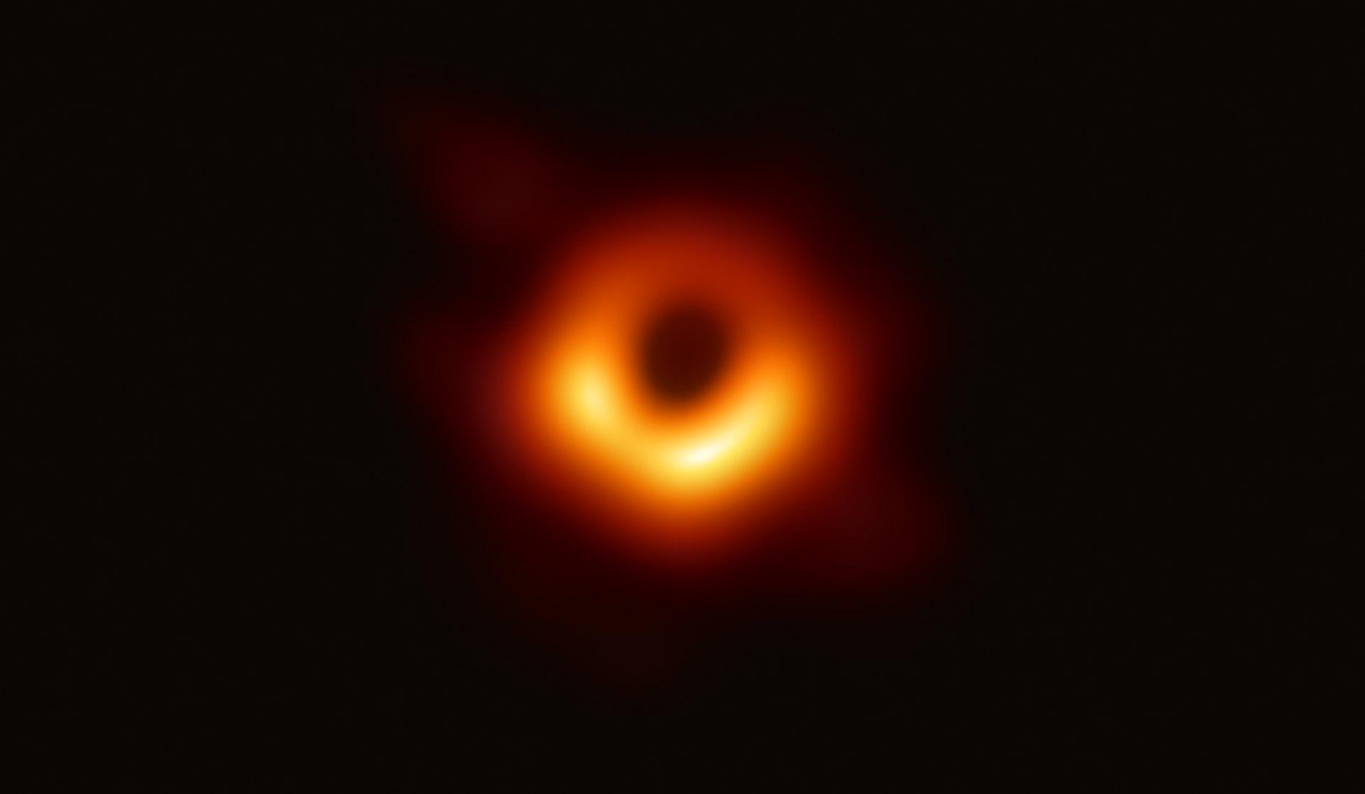 image of a black hole