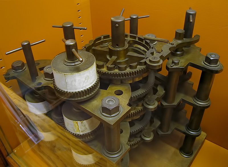 first computer ever - babbage's differential engine