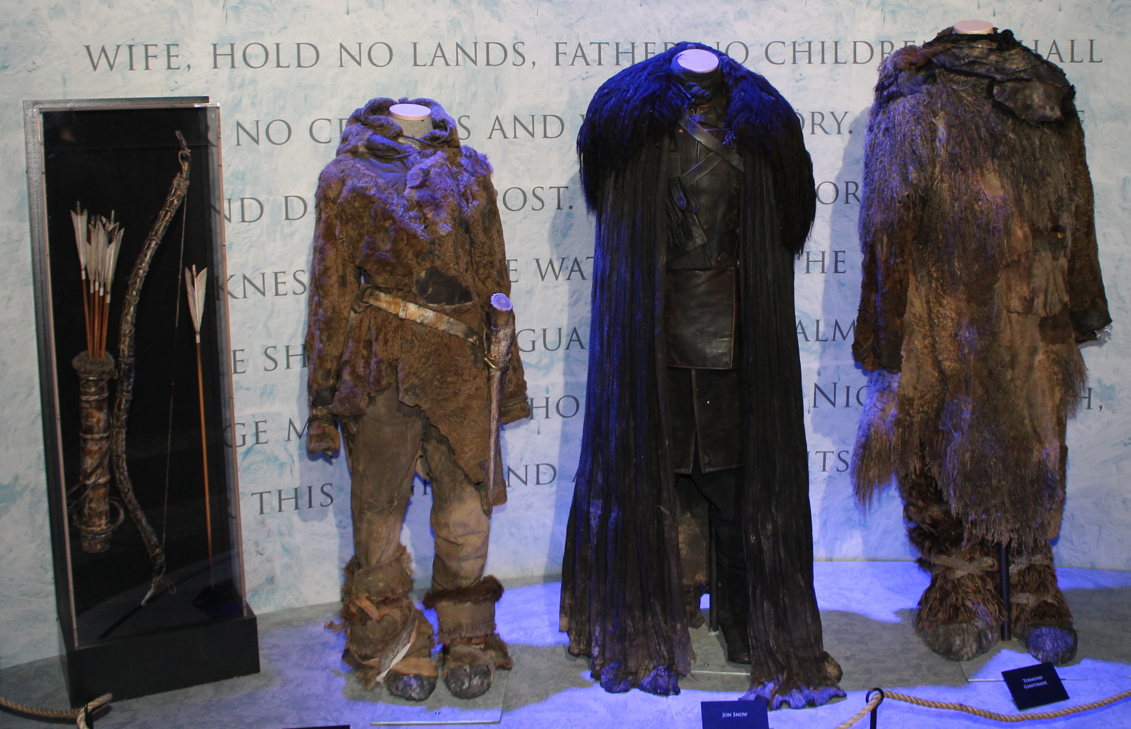 costumes worn in game of thrones