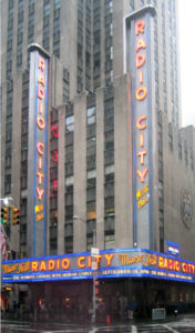 The first ever MTV video helped contribute to Radio City Music Hall becoming the place for MTV music award.