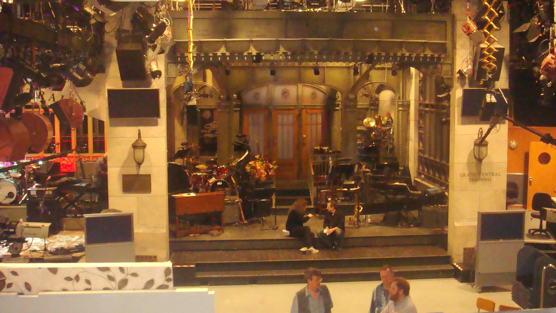 Saturday Night Live SNL stage